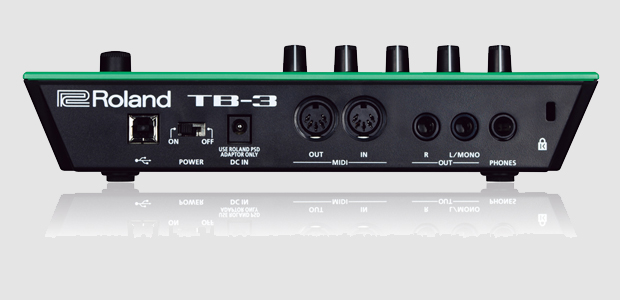 Roland TB-3 Panel Trasero