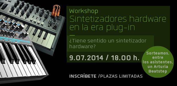 Workshop Sintetizadores - Cutoff Pro audio