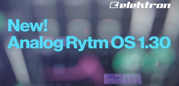 Nuevo sistema operativo para Elektron Analog RYTM