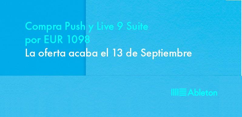 Promo: Compra Push 2 y Live 9 Suite por 1098 €