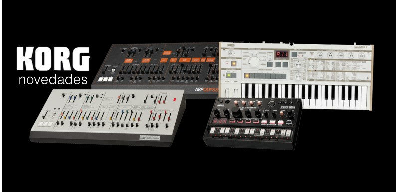 KORG presenta tres nuevos sintetizadores