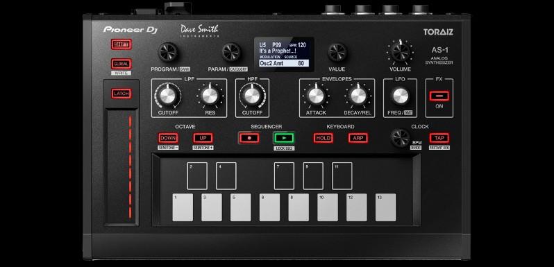 Pioneer DJ Toraiz AS-1: Primeras impresiones