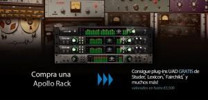 Universal Audio lanza la promo Apollo Dream Studio