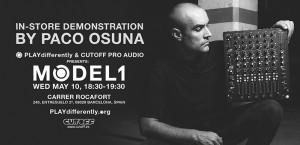 Workshop PLAYdifferently: Todos los secretos de MODEL 1 con Paco Osuna