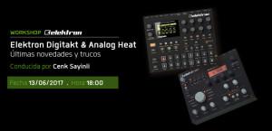 Workshop Elektron Digitakt y Analog Heat: Últimas novedades y trucos