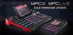 Akai lanza la actualización de firmware 2.0.5 para MPC X y MPC Live