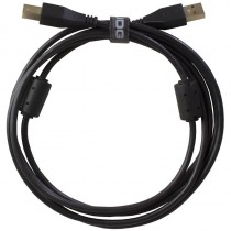 UDG Ultimate Audio Cable USB 2.0 A B Black Straight 1m