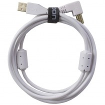 UDG Ultimate Audio Cable USB 2.0 A B White Angled 1m