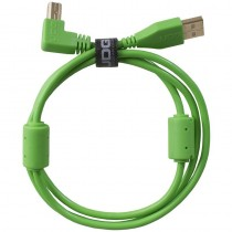 UDG Ultimate Audio Cable USB 2.0 A B Green Angled 1m