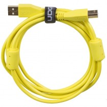 UDG Ultimate Audio Cable USB 2.0 A B Yellow Straight 3m