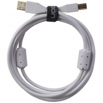 UDG Ultimate Audio Cable USB 2.0 A B White Straight 3m