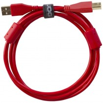 UDG Ultimate Audio Cable USB 2.0 A B Red Straight 3m