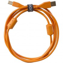 UDG Ultimate Audio Cable USB 2.0 A B Orange Straight 1m