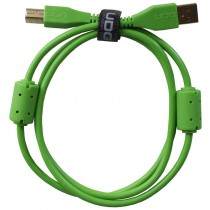 UDG Ultimate Audio Cable USB 2.0 A B Green Straight 1m