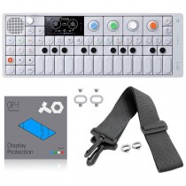 Teenage Engineering OP-1 + Strap Loop Kit + Strap Kit Gris + OP-1 Display Protection