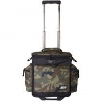 UDG Ultimate SlingBag Trolley DeLuxe Black Camo Orange Inside U9981BCOR