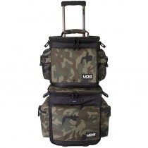 UDG Ultimate SlingBag Trolley Set DeLuxe Black Camo Orange Inside U9679BCOR