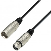 Adam Hall Cable XLR hembra a XLR macho 1 m K3 MMF 0100