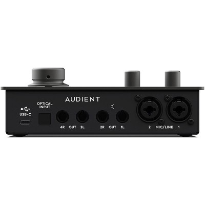Audient iD14 MKII Rear