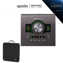 Apollo Twin X Duo Heritage Edition + Hardcase UDG + 6 Plugins Gratis