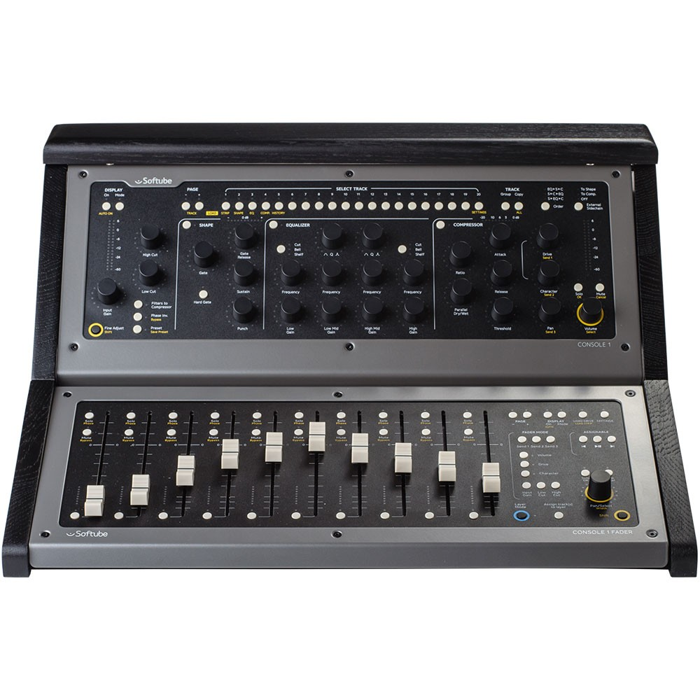Softube Console 1 + Console 1 Fader + Base & Top Black