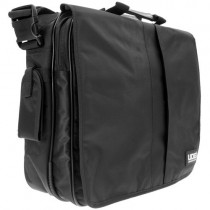 "U9490BL/OR Courier Bag Deluxe 17"" Negro / Interior Naranja"