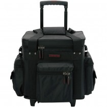LP Bag 100 Trolley Black Red