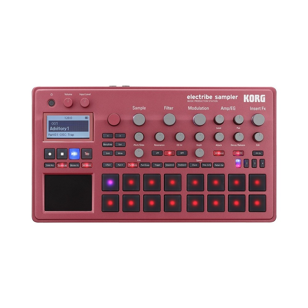 Electribe Sampler MPS Red