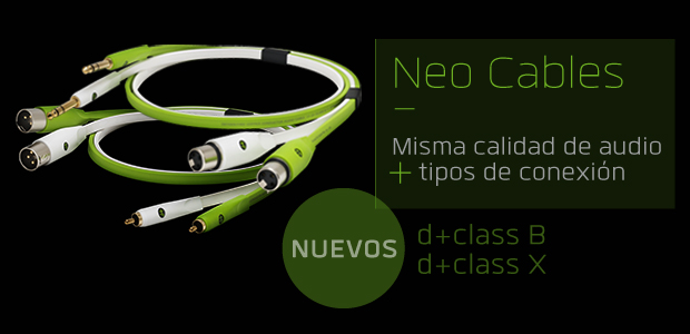 Nueva gama de cables Neo