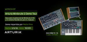 Workshop: Arturia Minibrute 2 Demo Tour