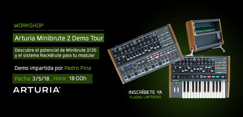 Workshop-Arturia-Minibrute-2-Demo-Tour