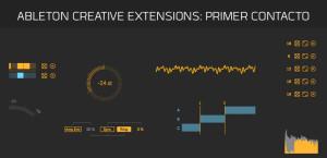 Ableton Creative Extensions: Primer contacto