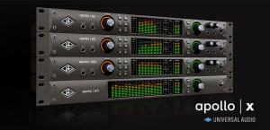 Nuevas Apollo X de Universal Audio