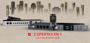 Dos ofertas de Antelope Audio en una