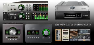 Nuevas promociones de Universal Audio hasta final de año