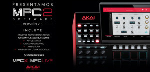 Actualización 2.3 para Akai MPC X y MPC Live