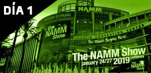 Novedades NAMM 2019 día 1