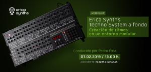 Workshop: Erica Synths Techno System a fondo