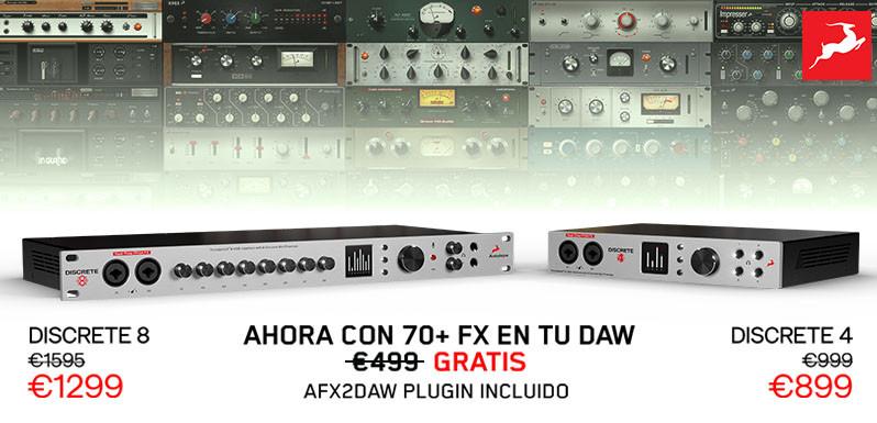Antelope Audio Discrete con Premium FX gratis