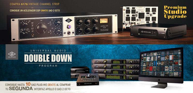 Nuevas promos de Universal Audio
