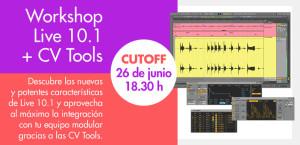 Workshop Ableton Live 10.1 y CV Tools