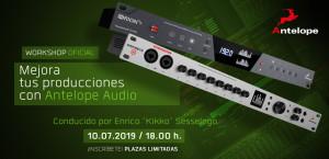 Mejora tus producciones con Antelope Audio