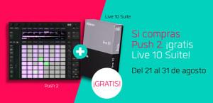 Compra Push 2 y llévate Live 10 Suite gratis