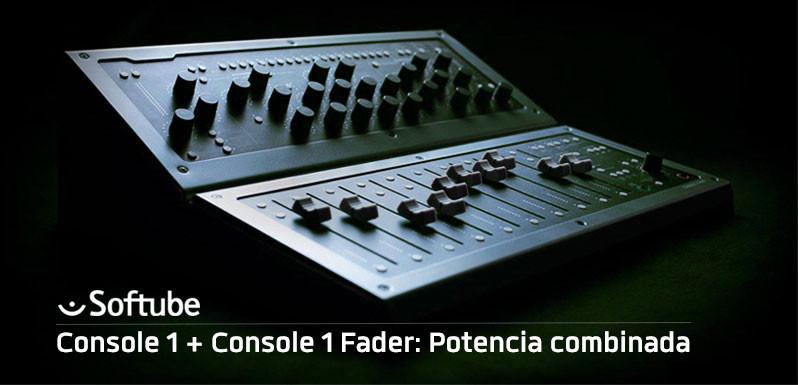 Console 1 + Console 1 Fader: Potencia combinada