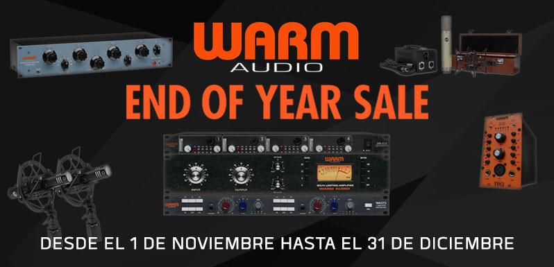 Promo de Warm Audio hasta final de año