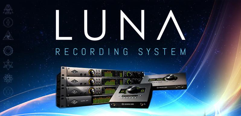 LUNA nuevo sistema de grabación de Universal Audio
