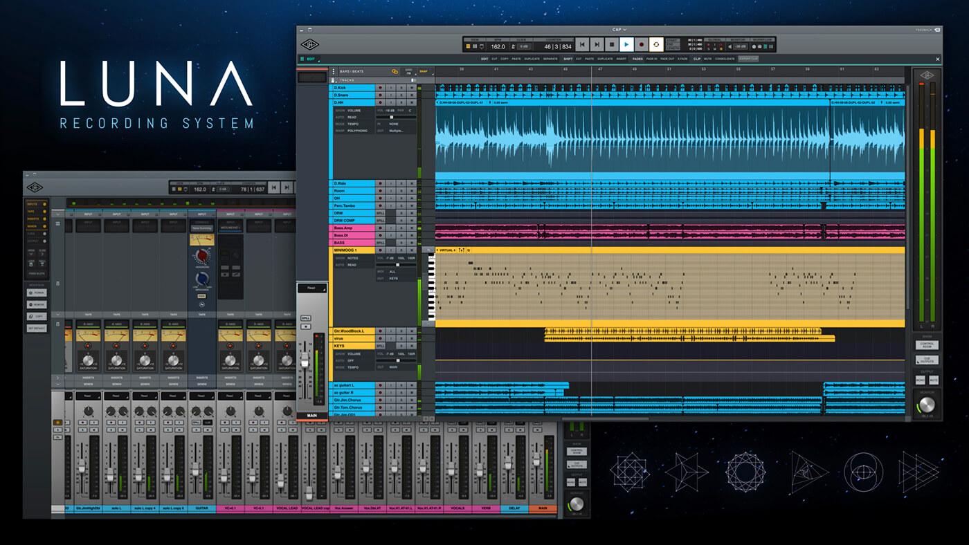 LUNA nuevo sistema de grabacion de Universal Audio