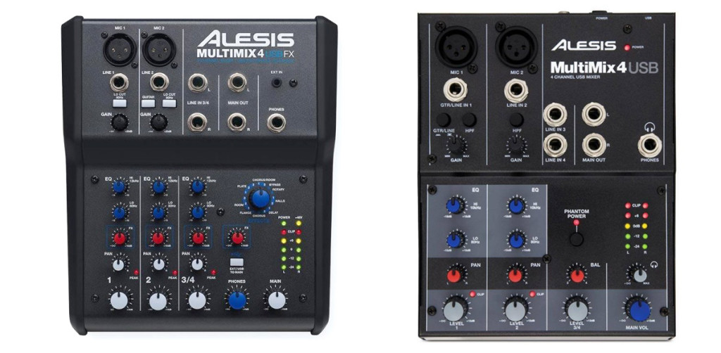 Alesis Multimix 4 USB y FX