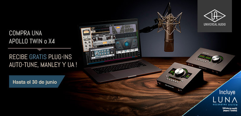 Desktop Platinum Vocal de Universal Audio