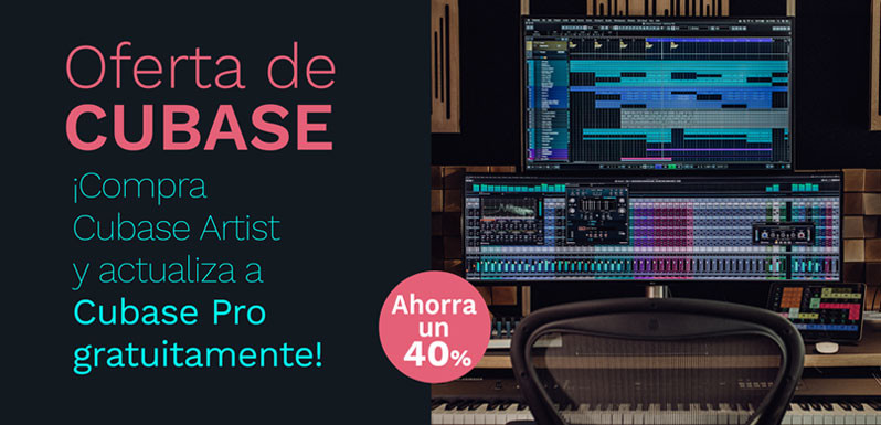 Compra Cubase Artist 10.5 y recibe Cubase Pro 10.5